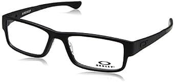 Oakley - AIRDROP OX 8046, Geometrico, propionato, uomo, SATIN BLACK(8046-01), 57/18/143