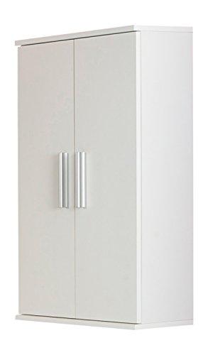 Kesper Badmöbel 2610000004001001 Hängeschrank Monaco, 2 Türen, 78,5 x 50 x 21 cm, weiß (Monaco-schrank)