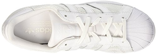 adidas Superstar, Scarpe da Ginnastica Basse Uomo Bianco (Footwear White/Footwear White/Footwear White)