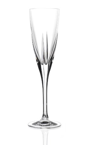 Set 6 calici fusion flute champagne 17 cl crystal glass