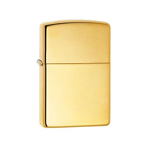 Art Deco Home Encendedor ZIPPO 254 Dorado Pulido 60001166
