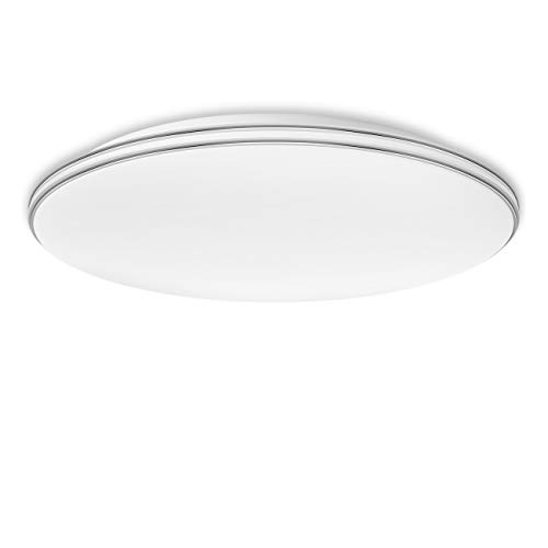 LVWIT Lámpara Techo LED - 24W equivalente 70W, Plafón
