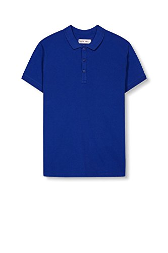 ESPRIT Collection Herren Poloshirt Blau (Bright Blue 410)