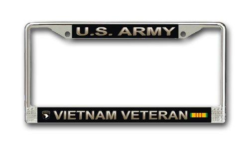 US Army Airborne WK2Vietnam Veteran Nummernschild Rahmen (Marine Corps Nummernschild)
