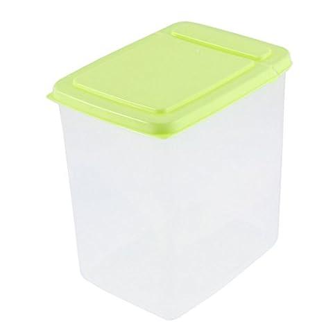 sourcingmap® Household Plastic Food Storage Box Container 15cm x 11cm x 16cm 2L