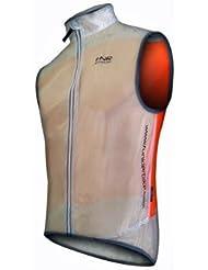 Funkier - Chaleco, talla DE: 104,1 cm, color transparente