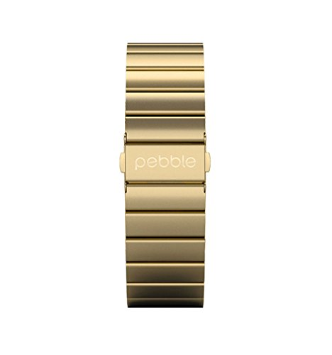 pebble-51123-22mm-gold-stainless-steel-classic-time-watch-band-strap-compatible-with-the-pebble-time