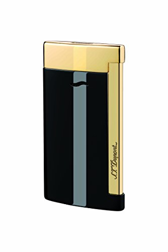 st-dupont-slim-7-lighter-black-gold