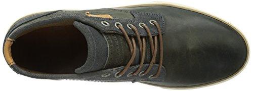 Mustang Schnür-booty, Sneaker À Col Roulé Pour Homme Gris (grau (900 Anthrazit))