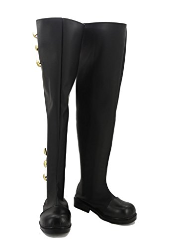 Fuman Seraph of the end Ferid Bathory Stiefel Karneval Schuhe cosplay Boots Herren Schwarz 45
