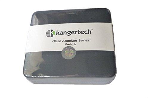 - Kangertech Protank BCC Clearomizer Kit, inkl. 2 Verdampferköpfen im Lederetui (neu) Dual Coil (Kanger Dual Coil)