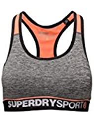Brassière Superdry Sport Essentials Bra Charcoal