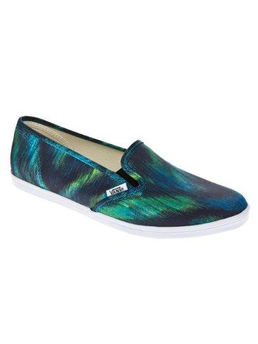 Vans Slip-on Lo Pro, Unisex - Erwachsene Skateboardschuhe blu ((watercolor) teal)