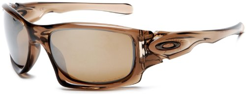 Oakley - Lunette de soleil Ten-Polarized Rectangulaire - Homme, Brown