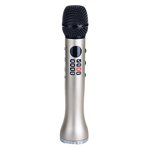 Micrófono inalámbrico WAXCC Karaok profesional para micrófono de conferencia de android iphone...