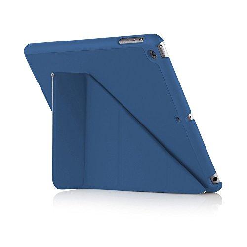 Pipetto iPad Air Hülle Navyblau Faltbare Origami Halterung Stand für Apple iPad Air 1 (5. Generation)