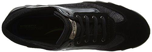 Stonefly Speedy Lady 10 Vel/L, Baskets Femme Noir (Nero/black)
