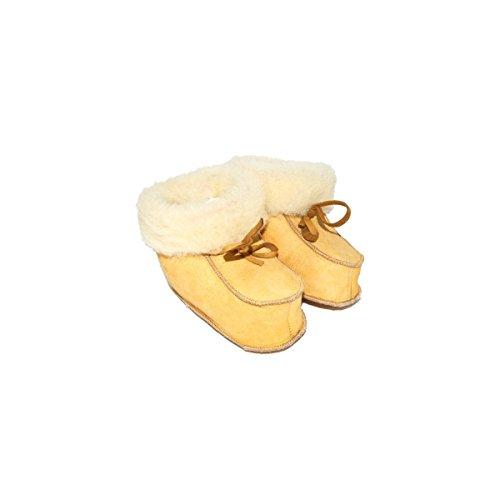 Boni classic shoes, Mädchen Babyschuhe - Krabbelschuhe & Puschen Hellbeiges Wildleder