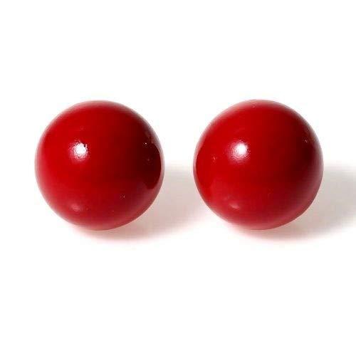 perlesmania.com 1 Perle SONORE 16mm Rouge pour Creation BOLA DE Grossesse S1175846