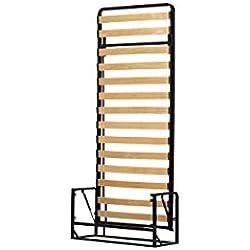 Wallbedking Classic Mécanismes de Lit Mural/Lit Escamotable/Lit Rabattable Vertical 90cm x 200cm