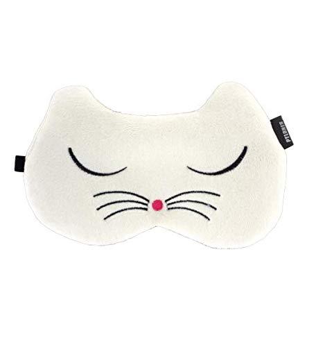 Pylones Schlafmaske Cat weiß