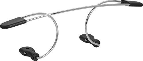 hr-imotion 10910201 stabiler moderner Kfz-Kleiderbügel zur Befestigung an der Kopfstütze (Dressbutler) [ Made in Germany   An- & abnehmbar in Sekunden] -