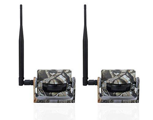 Olymbros Sans Fil Chasse Trail de Surveillance de Sécurité D'alarme 360°65ft 2 Pieces (Z2)