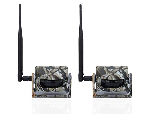 Olymbros 2pcs Transmisor Detector Infrarrojo Inalámbrico