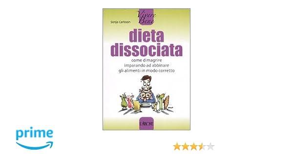 menu dieta semplice dissociata