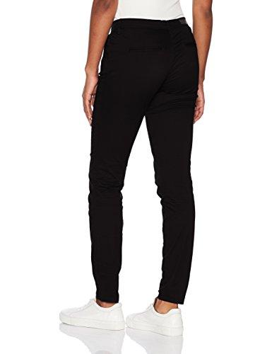 ONLY Damen Hose Onlparis Reg Sk Chino Pants Pnt Akm Noos Schwarz (Black Black)