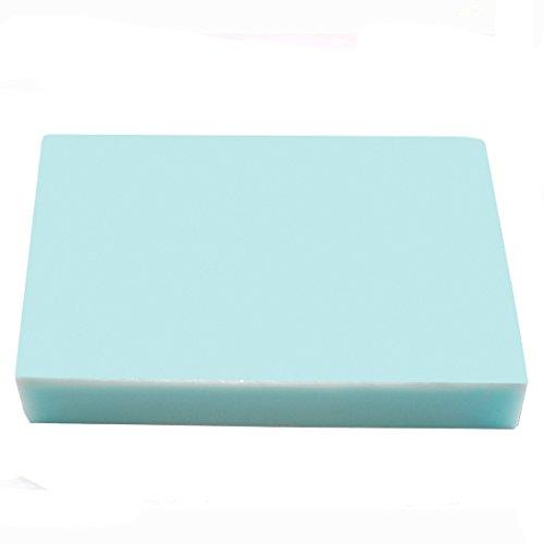 Seifenprofis Gießseife Rohseife Glycerinseife - Baby Blau - 1 kg