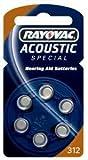 Hörgerätebatterie Rayovac Knopf Acoustic S. 312...