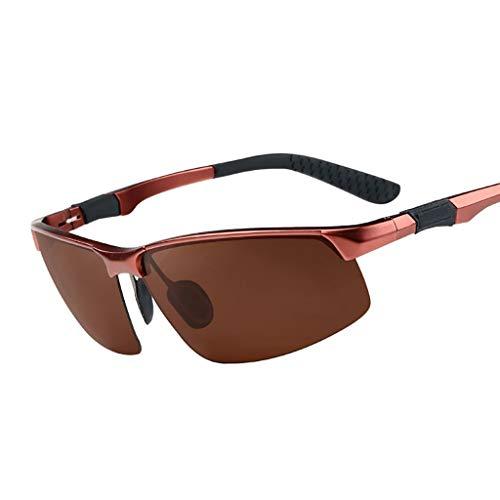 LDY Vintage halbrunde Sonnenbrille , für Frauen Classic Retro Design Style