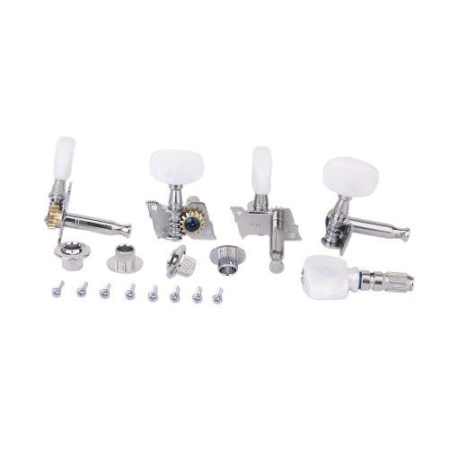 5Stücke Set Banjo Maschine Kopf Abstimmung Tuner Peg/Key mit 4 Buchsen Maschinen-buchsen