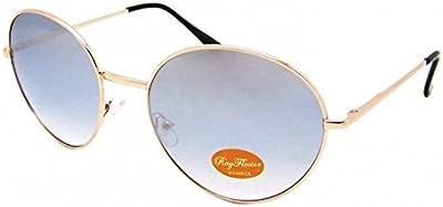 Espejo Gafas de sol Chic-Net redondo Golden medio Oversize John Lennon 400UV Vintage