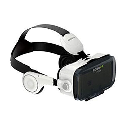 Audio-Zubehör 3D VR Brille Schwarz 3D VR Virtual Reality Headset für 3D Filme und Spiele, kompatibel mit 4,0-6,0 Zoll Smartphones Bessere Elektronik