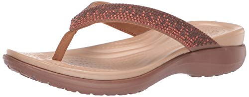 Crocs Women's Capri V Diamante Flip Flop -