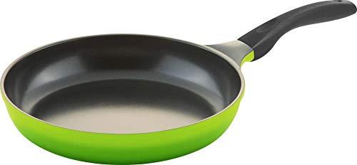 Steuber culinario Bratpfanne Ø 28 cm, grün, antihaft-cerathermplus-Beschichtung und induktionsgeeignet