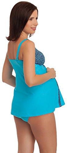 Be Mammy Maternité Maillot de Bain CARMEN Bleu/NavyBleu