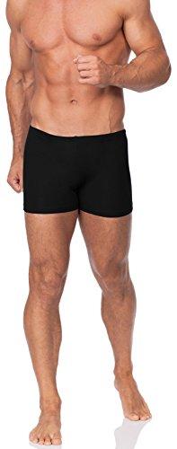 Hommes Shorts de Bain Modèle Alex Noir