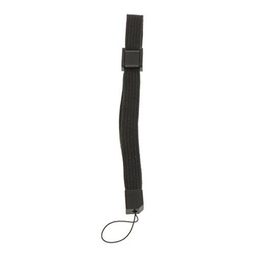 Unbekannt Ersatz Handschlaufe Schlüsselband für Wii DS PSP DSL Kontroller - Schwarz