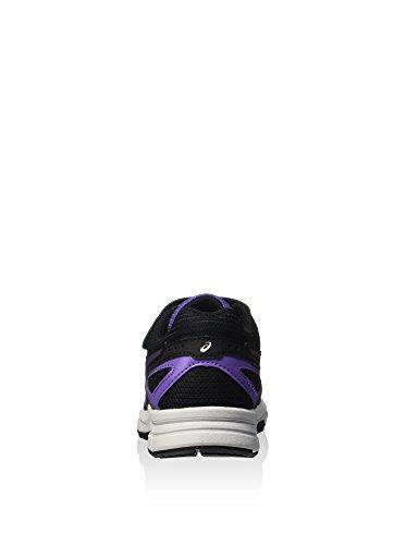 ASICS Pre Galaxy 8 PS Junior Scarpe Da Corsa Nero/Lilla/Argento