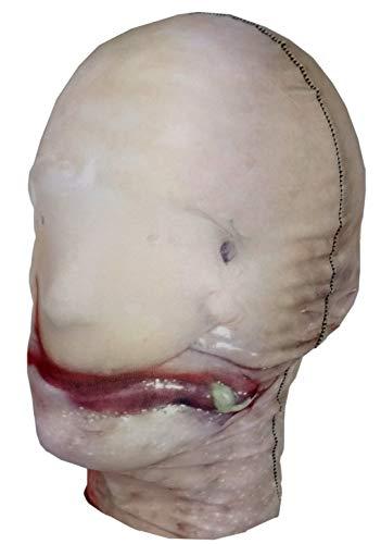 Blobfish-Full Head Mask-Halloween-Disfraz-Disfraz-Lycra tela