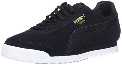 Puma Men s Roma Suede Sneaker Black  9 UK
