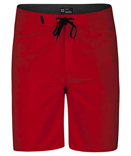 Hurley Herren M ONE und ONLY 2.0 21' Boardshort, Gym Red, 30