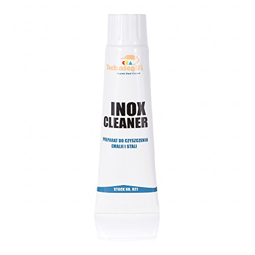 Inox Cleaner 80ml Polishing paste for Stainless steel Enamel Aluminium Ceramic Chrome Nickel Cutlery Hoods Sinks car motorcycle Exhaust pipes Rims