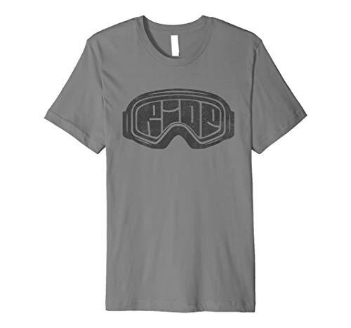 d08a3150b354 Snowboard retro shirts the best Amazon price in SaveMoney.es