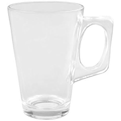 Vin brulé in vetro Sky Mug–225ml in vetro con manico, per vin brulé o tè