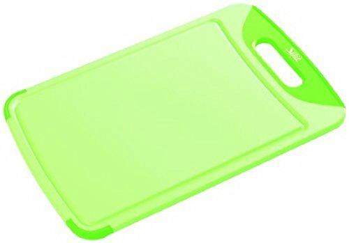Silit 2142274650 Schneidebrett 38 x 25 cm, grün