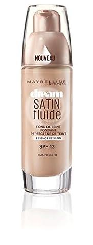 Maybelline Dream Satin Liquid 40 Fawn - foundation makeup (Liquid, Pump bottle, Fawn, Combination skin, Normal skin, Sensitive skin, Pore shrinking,